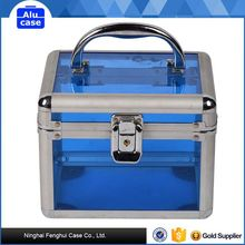 Various models factory supply hard aluminum case train makeup cosmetic case