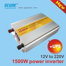 1500 watt power inverter ups dc 12v ac 220v home inverter