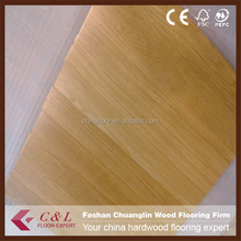 600*600*18mm Chinese Oak Parquet Wood Flooring with Natural Color