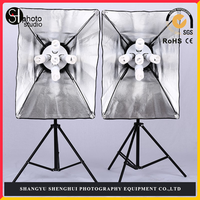 Photographic equipment Photography soft box suits Five lamp holder suit manufacturer production