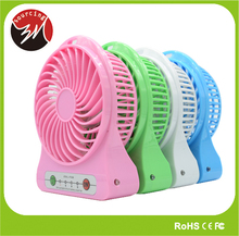 New Products Hot Summer 5V Handheld Micro USB Mini Fan with LED Light for Traveling Small Rechargeable Fan
