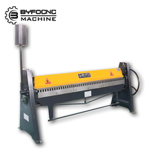 Sheet metal bending machine manual metal plate folding machine