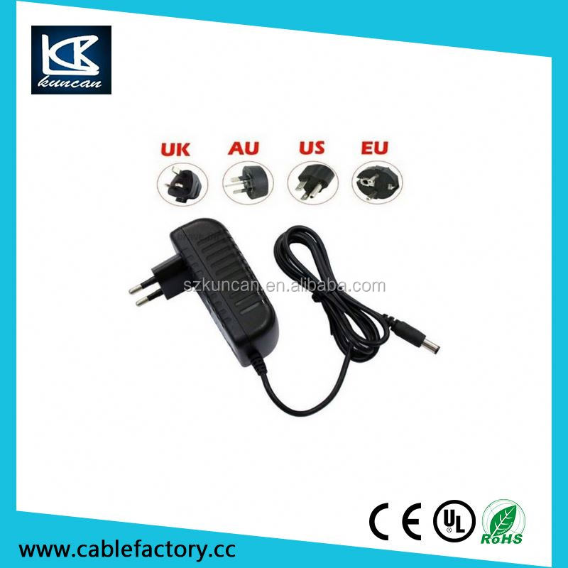 For cctv computer use 12v 2a 24w power supply with RoHS approved