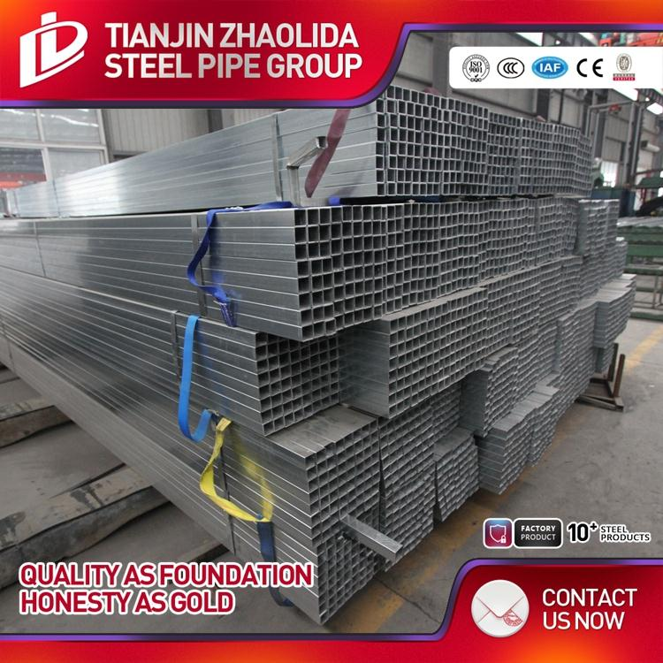 Q195 Q235 Q345 material welded hot dip galvanized steel drill pipe for greenhouse