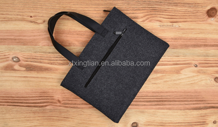 Fashion laptop case laptop bags Neoprene felt laptop sleeve