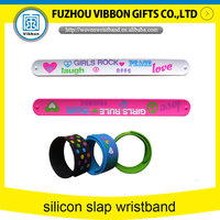 lovely kids Stainless stell slap bracelet watches for promation