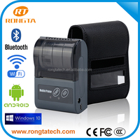 Supermaket/Restaurant equipment pos system with Android 58mm portable pos printer thermal