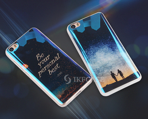 Blue Light Thin Soft TPU Case For Samsung Galaxy A5/A500 Shining Back Cover Clear Protective Cases For Galaxy G530/Grand prime