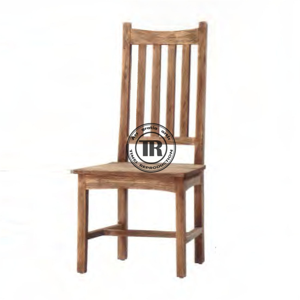 Solid wood chiar,Antique style Chair,Block leg dining chair