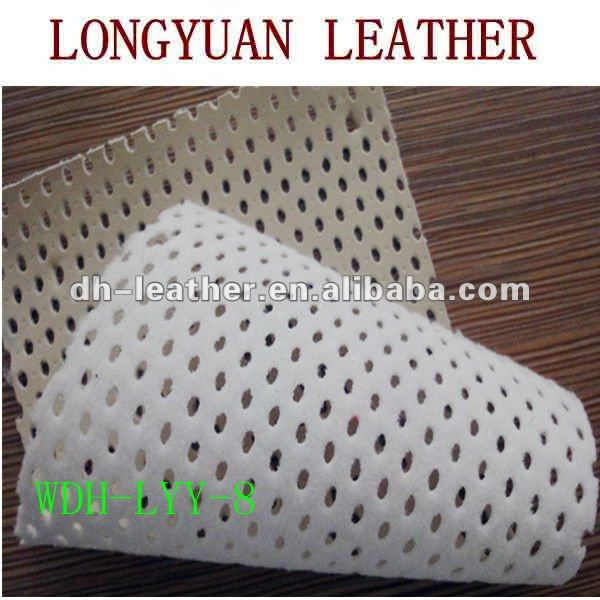 imitation leather with Elliptical hollow