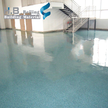 wearing resistance Epoxy Colored Sand floor paint