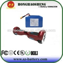 36v Samsung 4.4ah 158wh lithium battery for balance scooter