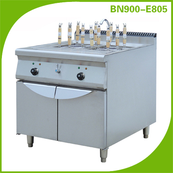 2016 Hot sale!Restaurant kitchen equipment/Electric Pasta Cooker with Cabinet BN900-E805