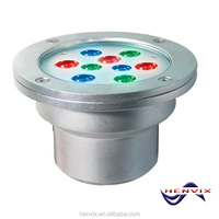 27W IP68 stainless steel in ground pool lights
