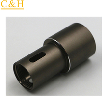 China anodized Aluminum CNC machining/milling/turning parts by highlight process