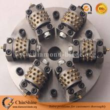 hot sale rotary bush hammer tools plates for concrete granite marble sandstone stone
