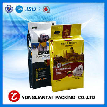 TOP sale flat bottom bag for 8 oz coffee packaging