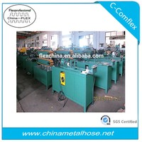 Mechanical corrugated flexible metal pipe/tube/hose making machine