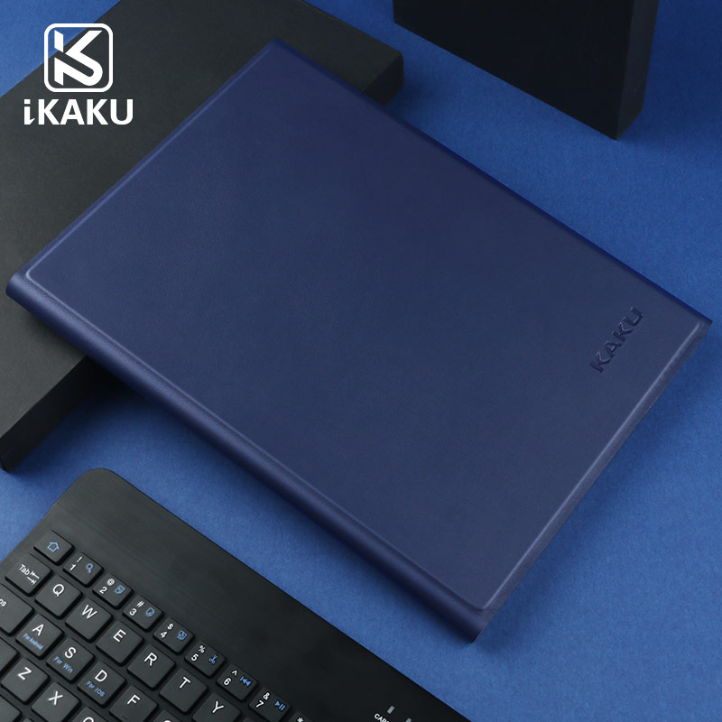 KAKU 2018 FCC ROSH CE Smart Leather Case Keyboard With LED Backlit For apple ipad pro10.5 2017