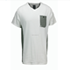 Latest t shirt design colar pocket new model men's t-shirt