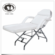 Professional Salon and Spa Stationary Facial Bed All Purpose Doctor's Tatoo Reclining Chair Bed