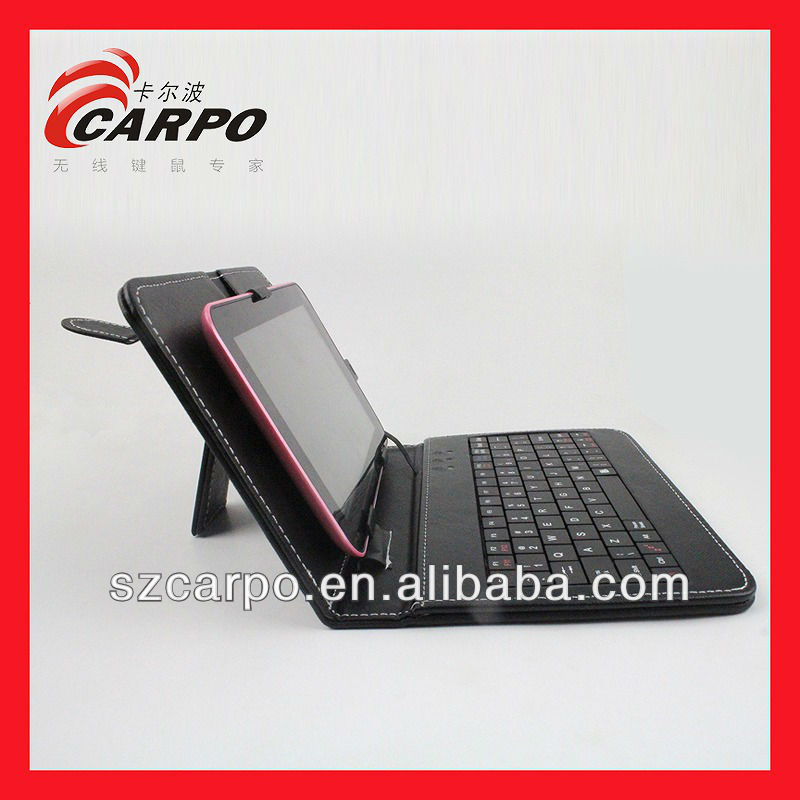 computer accessories Tablets 7inches Leather Case Keyboard