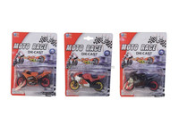 Die cast motorcycle alloy car