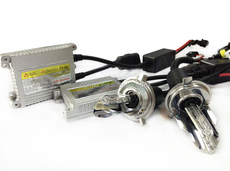auto part hid slim ballast kit h4-1 4300k AC 12V/35W high replacement for automobile motorcycle