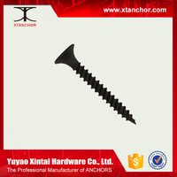 Black self tapping drywall screw solar panel