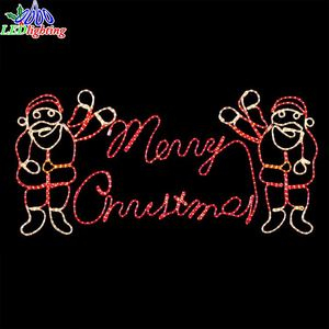 Top Sale led lighted letters for merry christmas
