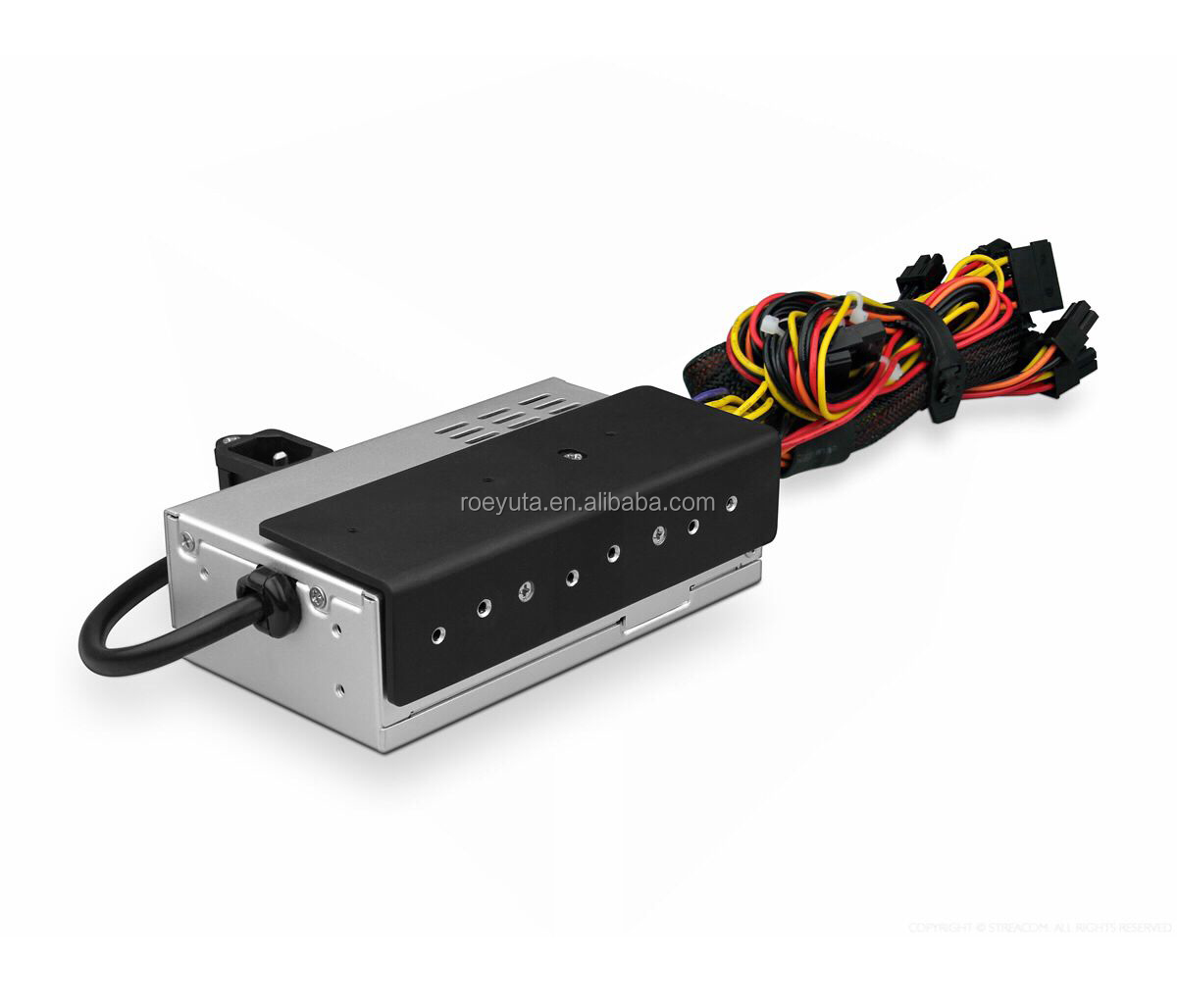 MINI ITX PSU  AC100-240V rated 250W 0 dB active PFC fan free flex power supply