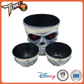Tableware-Skull Plastic Bowl Factory Price Halloween Kid Toy