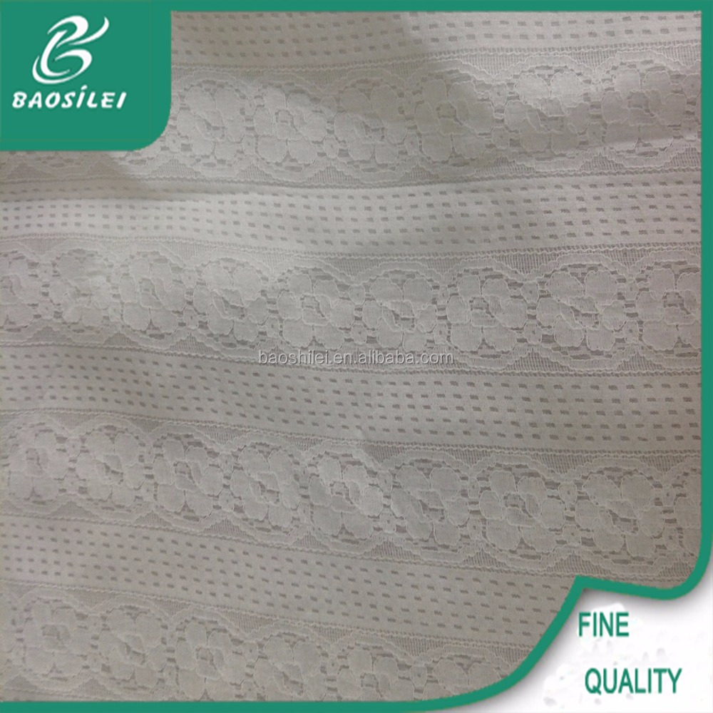 latest design rose flower pattern lace for gril's dress
