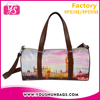 PU Leather Small Size Fancy Travel Bag for Ladies and Women