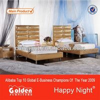 2015 Super Quality White white real leather bed design G958