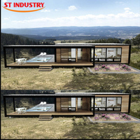 New style customerized 20ft 40ft ocean container house
