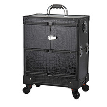 Tool Cosmetic Brush Salon Hairdressing Makeup Trolley Case For Manicure