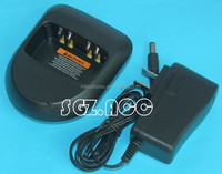 Two-Way Radio Battery Dock Charger Adapter For Moto-rola Mag One BPR40 A8 A6