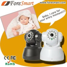 home use network 0.3 mp 3.6mm lens baby monitor two way audio wireless cctv camera