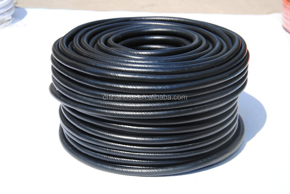 Jg ul black flexible plastic gas pipe hose colorful