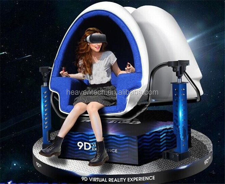 2016 New Products Egg chair 9D VR Cinema 360 degree With More than 30 Movies 9d vr