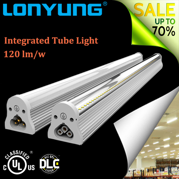 Low price 2ft 3ft 4ft 5ft 6ft industrial integrated ceiling 1.5ft t8 led tube light