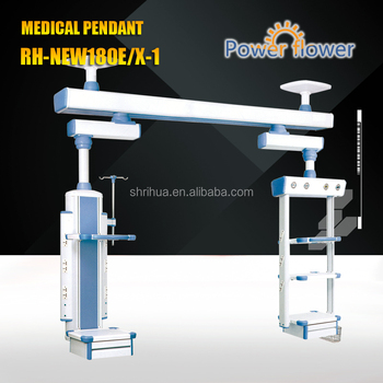Factory with OEM!RH-NEW180E/X-1 rotated arm type medical alert pendant CE ISO Electric Suspension pendent bridge