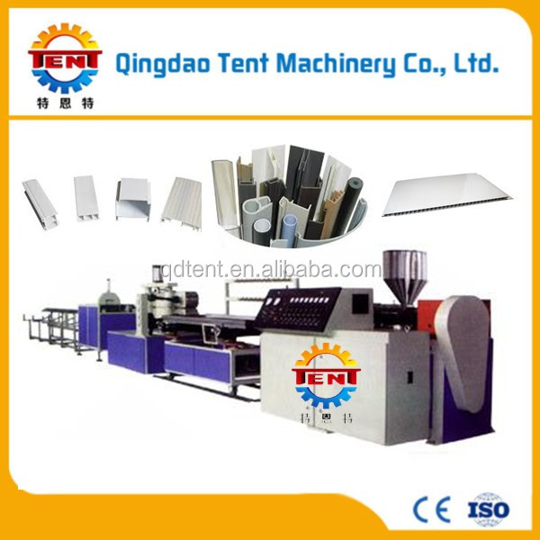 high quality plastic pvc ceiling tile making machine/making machine/production line