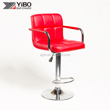 Popular New Designed Swivel Wholesale PU Bar Chair with footrest