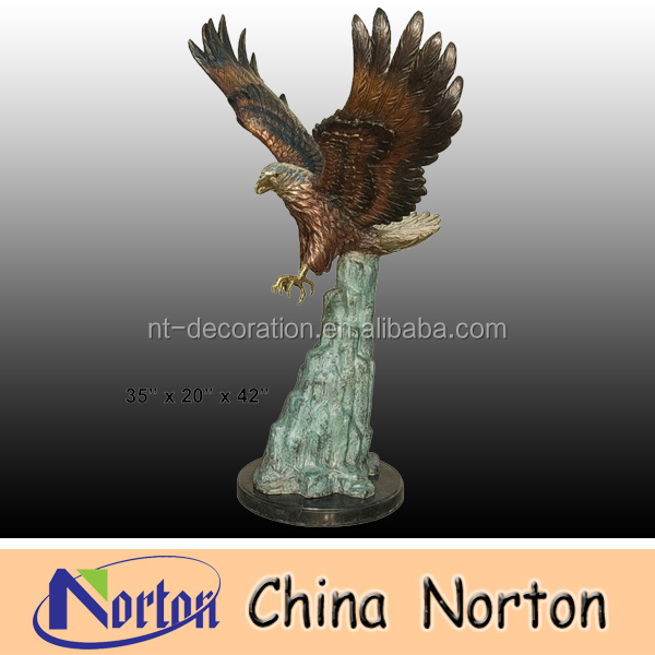 Large Bronze Eagle sculptures NTBH-D008