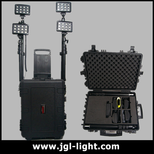 remote area led light tower Remote Area Lighting System--584433-144w