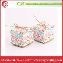 Simple and easy gift box necklace packaging paper jewellry box