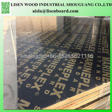 Black or brown Film faced Formwork pine panel plywood