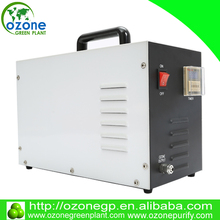 Electrolytic ozone generator for shower